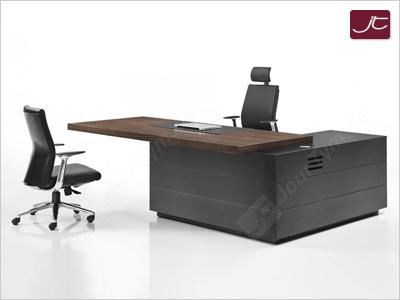 Design Chef Schreibtisch Imola in Zebrano
