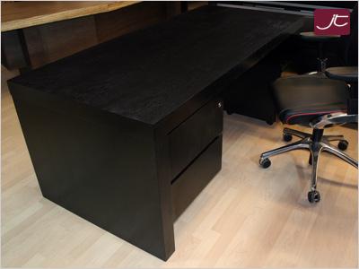 Design Chef-Schreibtisch Savona Walnuss