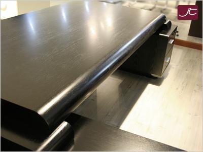 Designer Chef Schreibtisch Varese - Tischplatte - im Online-Shop Jourtym.de
